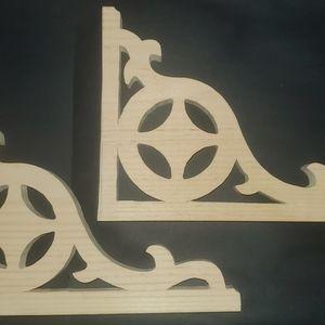 Corbels Set Of 2 Shelf & Screen Door Brackets